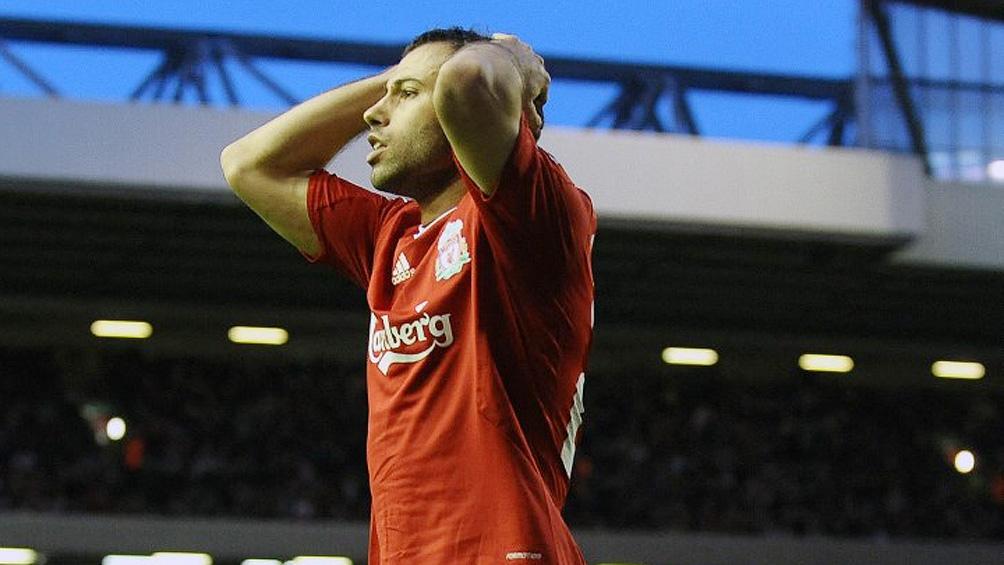 En 2010 pasó del Liverpool al Barcelona,