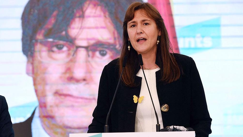 Laura Borras integra el partido Junts per Cataluña