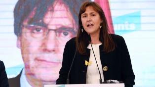 La independentista Laura Borras fue elegida presidenta del Parlamento de Cataluña