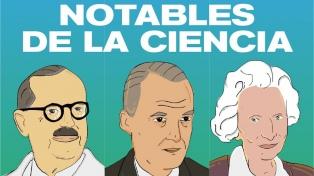"""Lanzan un sitio web para conocer mejor a """"Notables de la Ciencia"""" de la Argentina"""