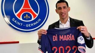 Di María extendió su contrato con el París Saint Germain