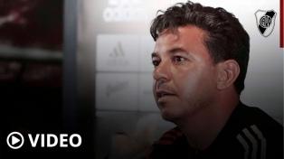 """Gallardo y el duelo ante Boca: """"Depende de lo emocional, el más fuerte se impondrá"""""""