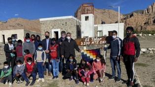 La escuela del paraje El Tolar iniciará el lunes las clases tras un año inactiva