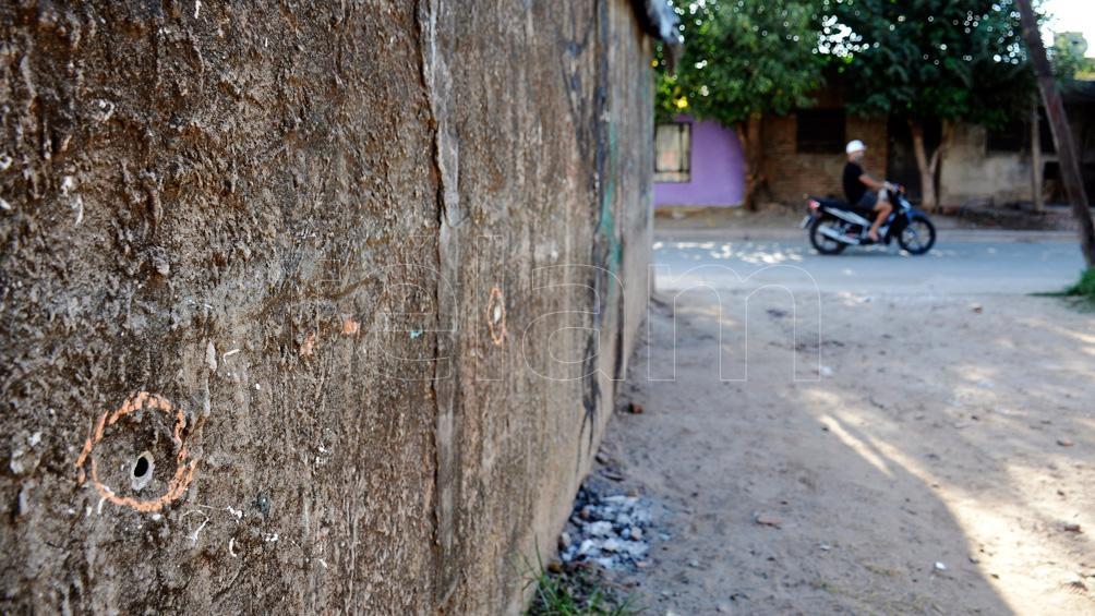 El triple crimen ocurrió en Cerrillos al 3700, en el barrio Triángulo ubicado en el sudoeste de Rosario.