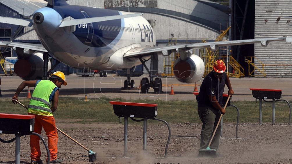 """Realizar este tipo de obras """"con el aeropuerto operativo, diría que es imposible"""", consideró Vilanova"""