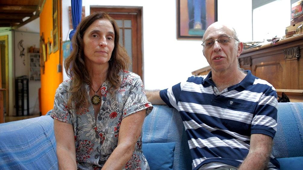 Mariana y Marcelo Ikonikoff, autores del pedido a la Justicia.