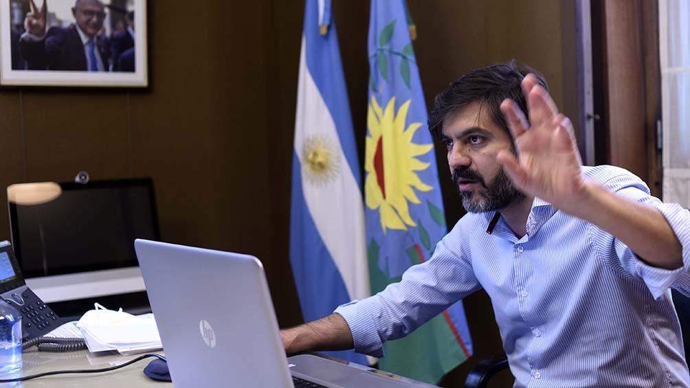"""Bianco: La provincia será """"muy estricta"""" con sus funcionarios si detecta irregularidades en la asignación de turnos."""