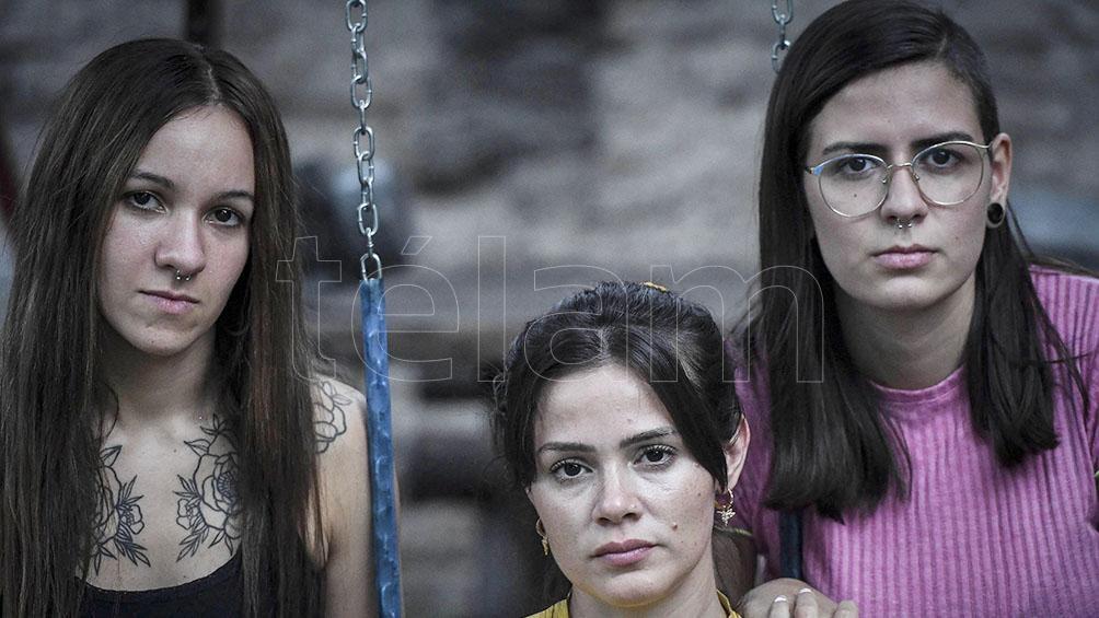 Las víctimas de Eduardo José: Mailin Gobbo,  Yazmín Detez, Karen Maydana y Cecilia Burgos.