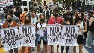 """Según ambientalistas, la iniciativa popular puede hacer """"tambalear"""" los acuerdos del PRO"""