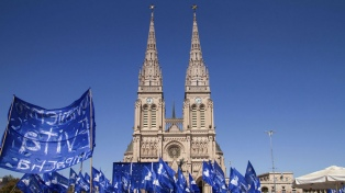 Movimientos sociales se reunieron en Luján, a ocho años del pontificado de Francisco