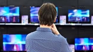 Banco Nación lanzó una campaña para comprar televisores y equipos de audio