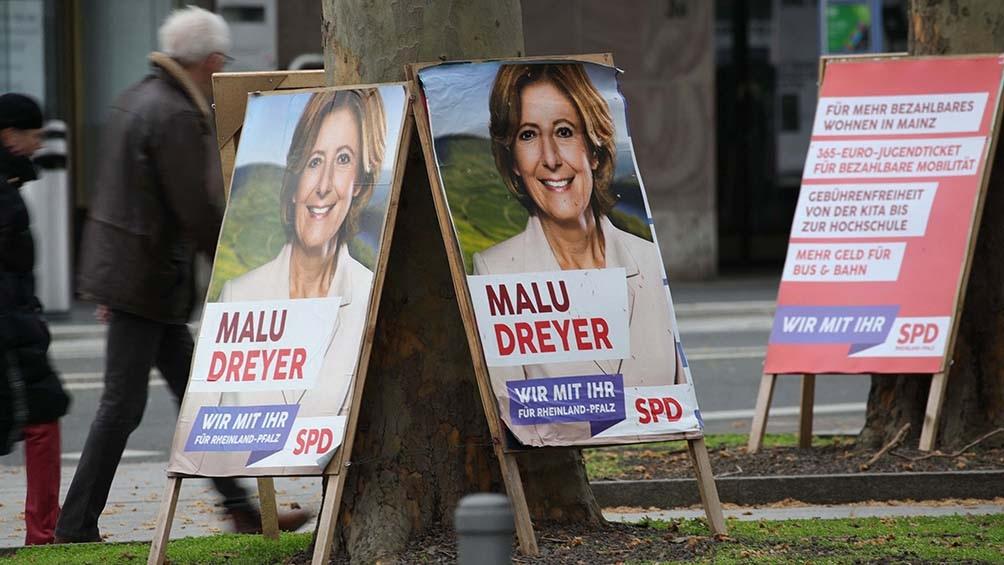 El Partido Socialdemócrata (SPD) se mantiene en Renania-Palatinado