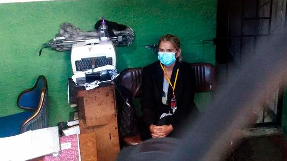 Jeanine Ánez entró en huelga de hambre según una organización de Derechos Humanos
