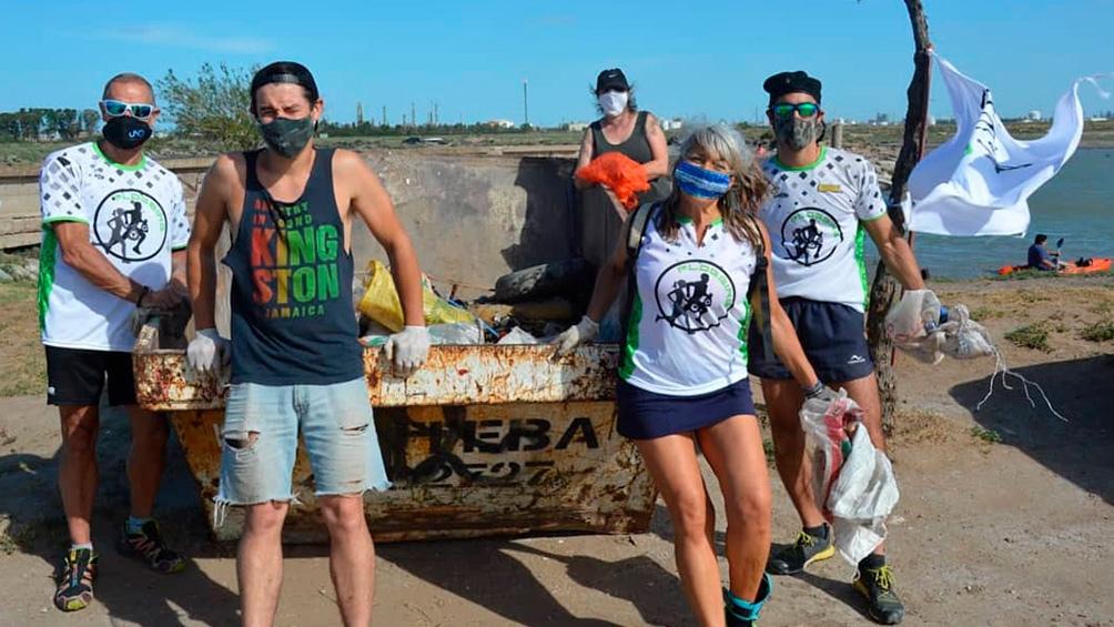 Una actividad que combina el jogging con la ecología.