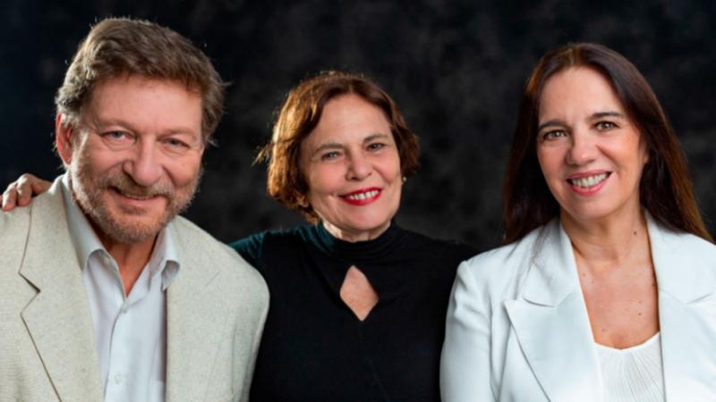 Ingmar Bergman y Liv Ullmann intercambian recuerdos en el 25 de Mayo