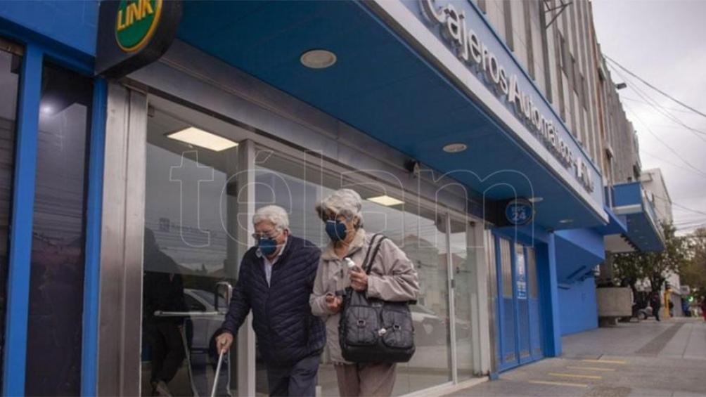 Los jubilados y pensionados no tienen que solicitar turno para cobrar sus haberes.