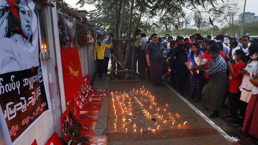 Los generales prosiguen su represión: más de 120 manifestantes perdieron la vida desde el 1º de febrero
