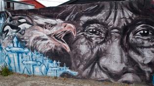Artistas nacionais vão pintar dez murais em Ushuaia com temáticas de gênero e diversidade