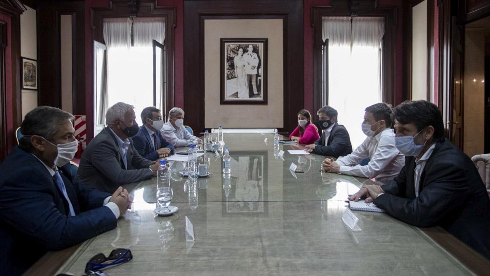 Kicillof presentó el Plan de Reactivación Productiva que  anunció ante la Asamblea Legislativa.