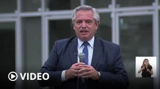 """Alberto Fernández: No se acordará con el FMI """"a costa de los argentinos"""""""