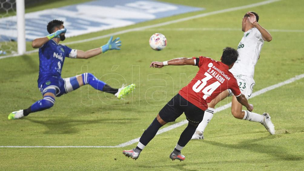 Independiente goleó 6 a 0 a Sarmiento y quedó como líder de la Zona 2