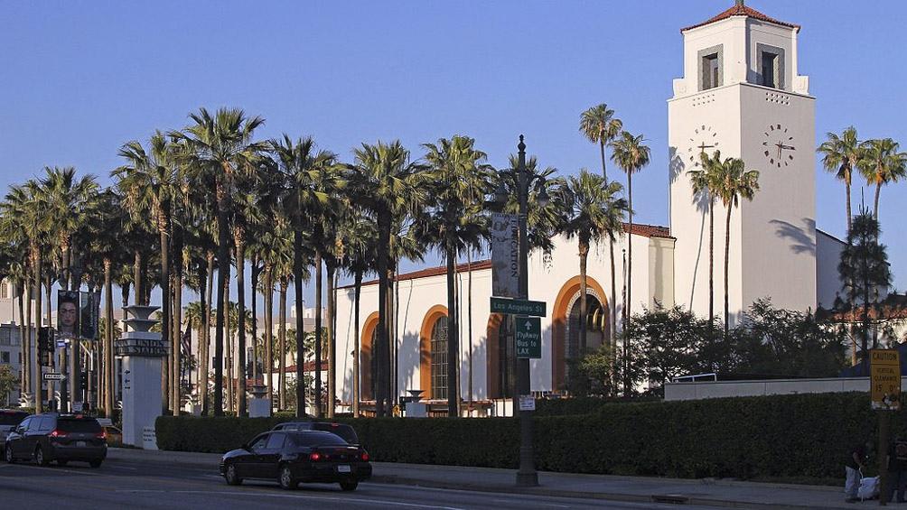 La estación Los Ángeles Union.