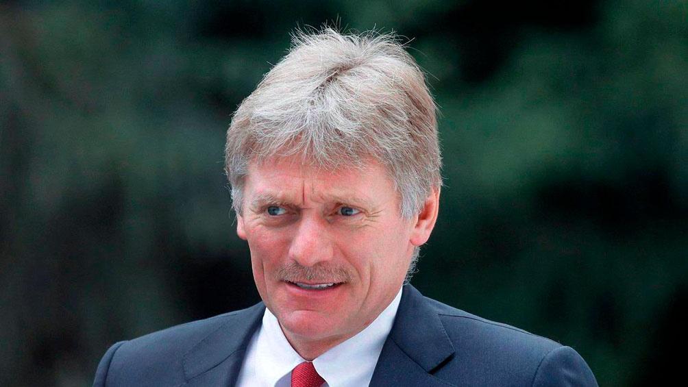 """""""Lo que se está discutiendo actualmente no va a favorecer de ningún modo una reunión"""", estimó Dmitri Peskov."""