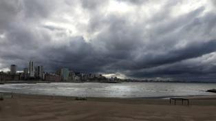 Alerta amarilla para Mar del Plata y parte de la costa por fuertes lluvias