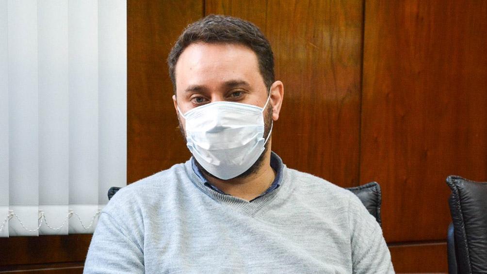 """Enio García, advirtió que de acuerdo a los datos que se registraron en los últimos días """"ya empezó"""" la segunda ola de coronavirus"""