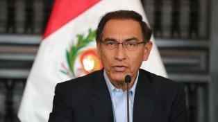 La Justicia peruana ordenó congelar fondos del expresidente Vizcarra