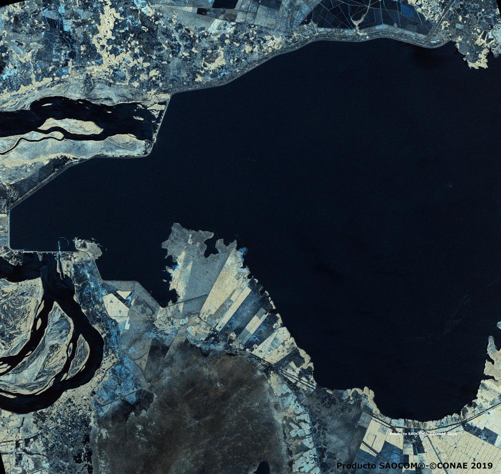 Foto satelital: cortesía CONAE.