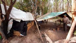 """Explotación laboral en dos campos de Corrientes: """"Tenían hambre y debían cazar para comer"""""""