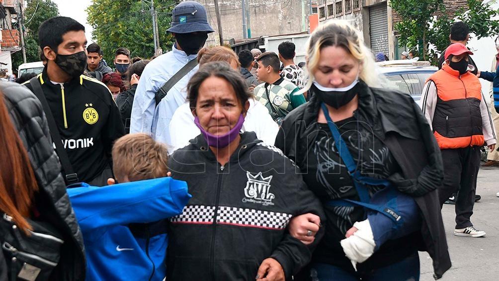 Los familiares siguen reclamando y exigen la aparición de la niña secuestrada.