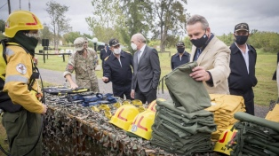 Se capacitará a soldados voluntarios para combatir incendios forestales