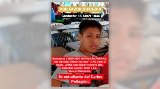 Apareció en Florencia Varela el estudiante de 15 años que buscaban en Balvanera