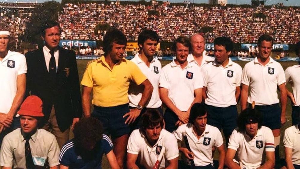 El equipo de los Países Bajos subcampeón en Argentina 78.