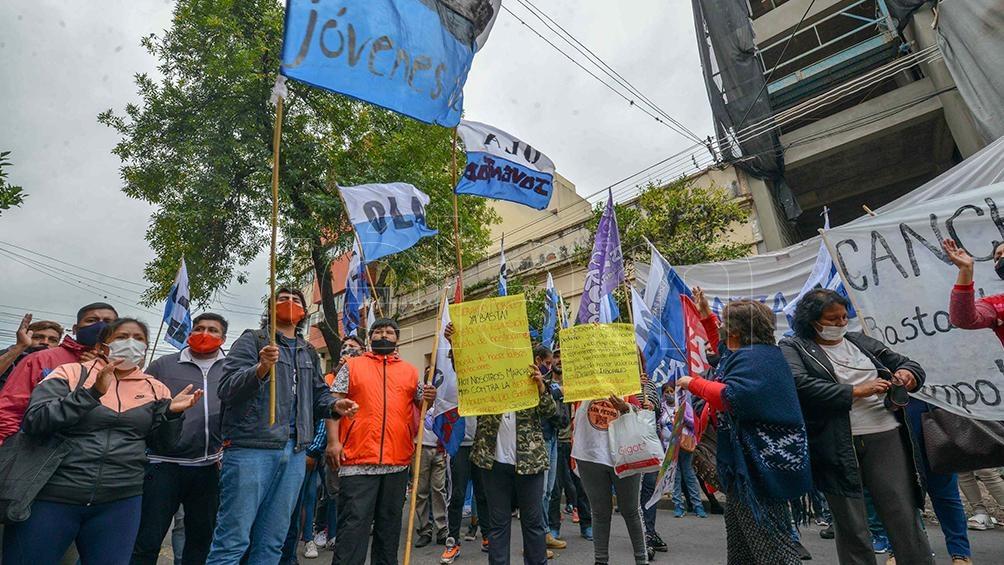 En la represión participaron unos 300 efectivos policiales.