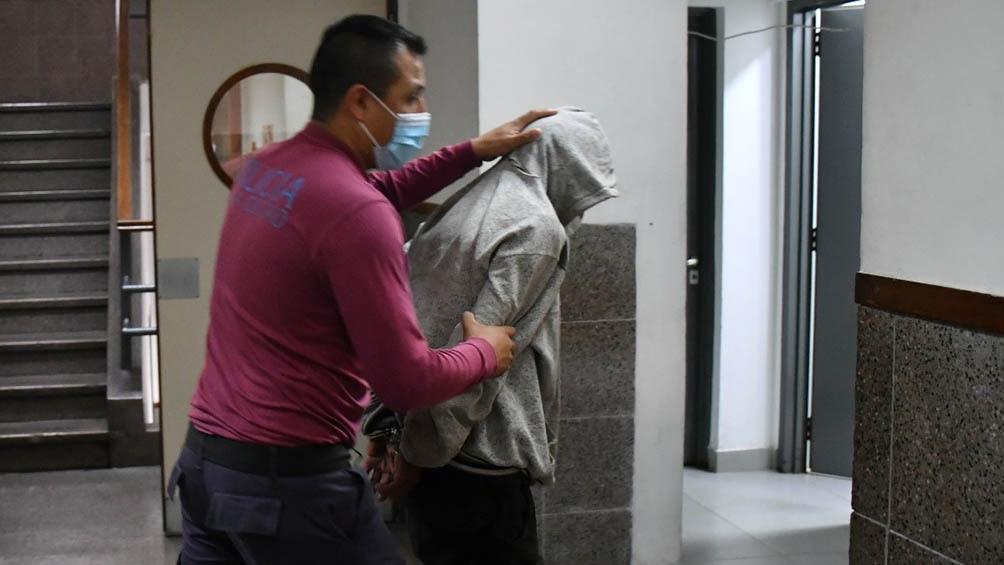 Carlos Savanz continuará detenido a la espera de los dictamen de la Justicia (foto archivo)