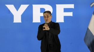 El presidente de YPF aseguró que está listo el proyecto de promoción de inversiones
