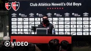 """El """"Mono"""" Burgos, sorprendido con Newell's, solo piensa en Unión"""