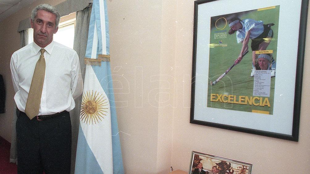 Garrafo, uno de los integrantes del plantel nacional que disputó la Copa del Mundo 1978, de Argentina