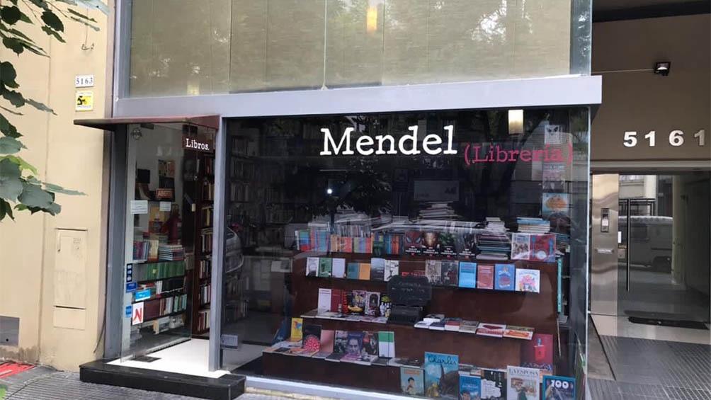 La librería Mendel, en Palermo.