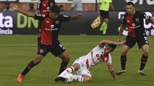 """Newell's no pudo con Unión en el debut del """"Mono"""" Burgos"""