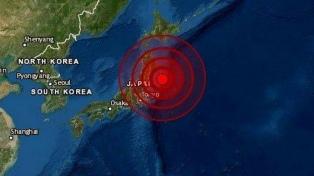 Japón levantó el alerta de tsunami tras el fuerte sismo de 7,2 en las costas del noroeste