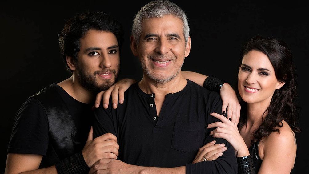 Peteco, quien junto a sus hijos Homero Carabajal y Martina Ulrich conforma el terceto Riendas Libres.