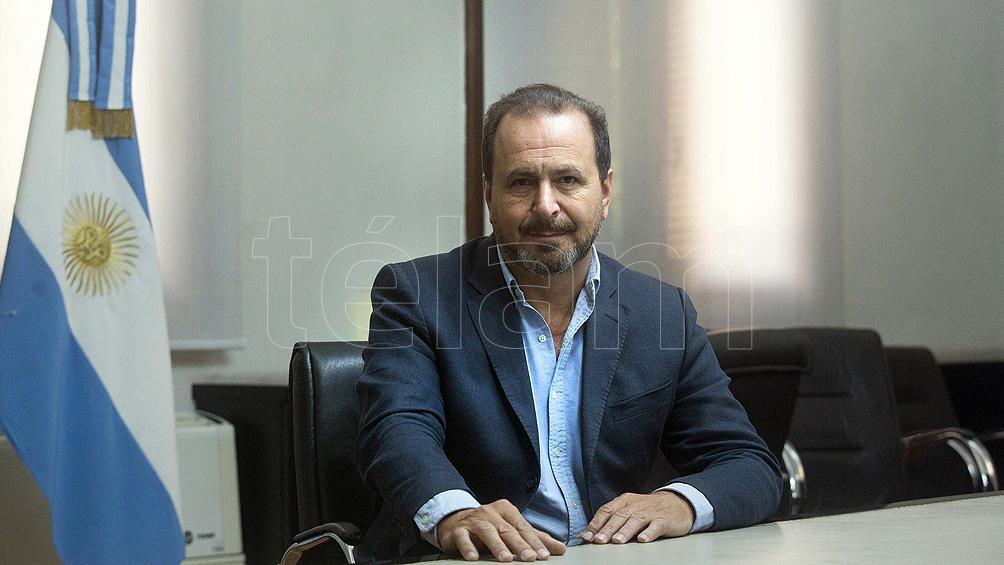 Secretario de Agricultura, Ganadería y Pesca, Jorge Solmi.