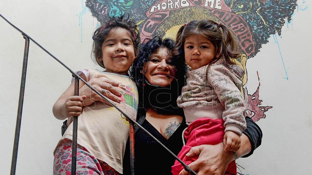La coordinadora Liliana Bravo trabaja hace seis años en el Centro de Integración Frida.
