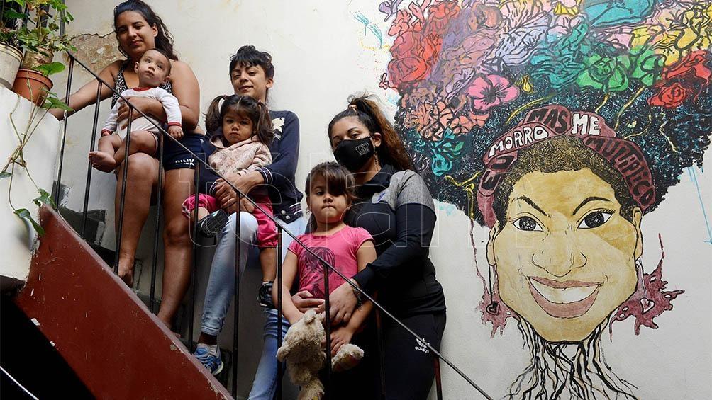 Camila Reisach, Brisa Olivera Chagas y Florencia María Pacheco: mujeres que se alojan en el Centro Frida