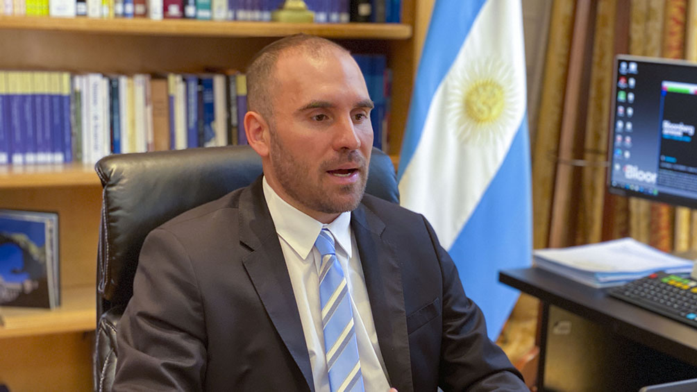 Guzmán se reunió con representantes de empresas francesas con inversiones en la Argentina