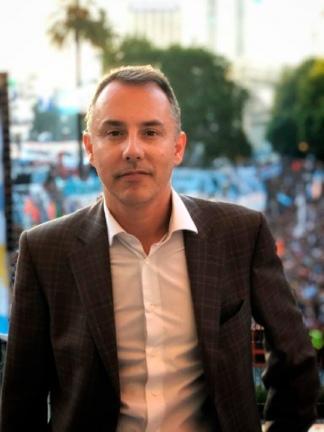 Maximiliano Alonso es el director de la entidad bancaria que abre oficinas en la Argentina.